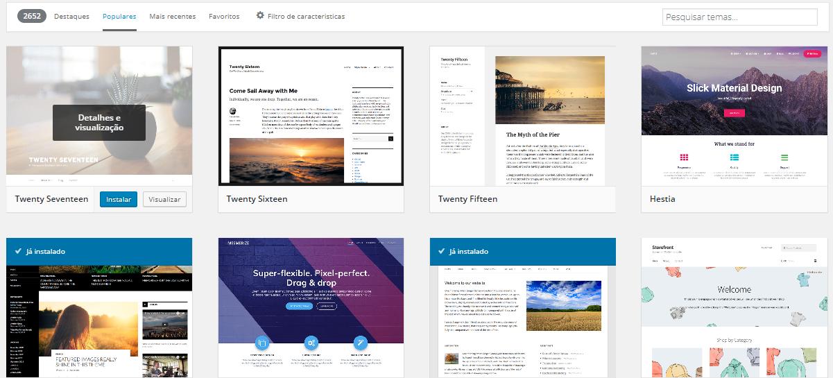 Wordpress Temas