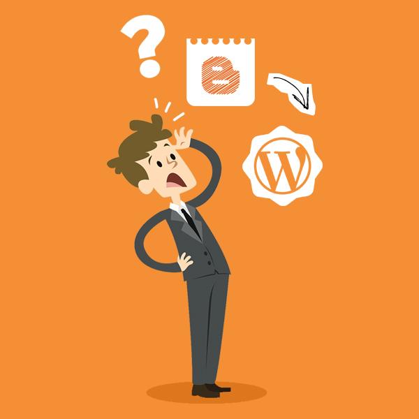 WordPress ou Blogger?