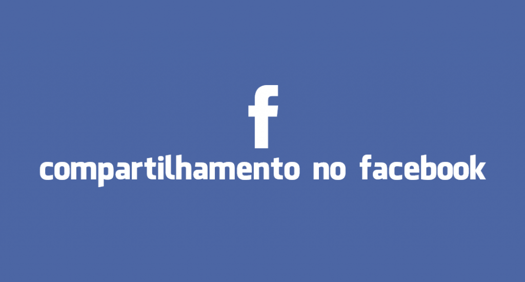 Compartilhamento no Facebook